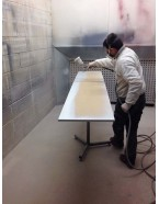 MDF High Gloss Spraying